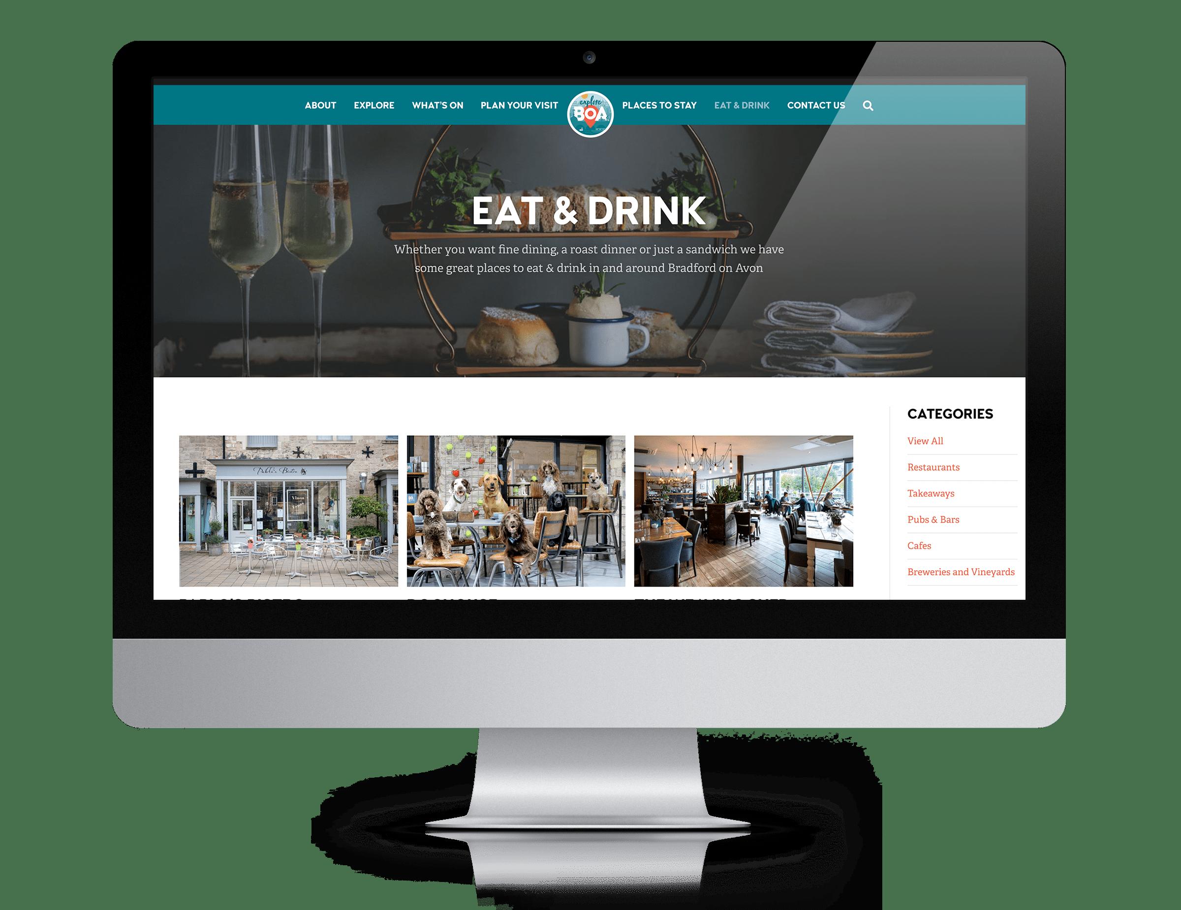 Council website design