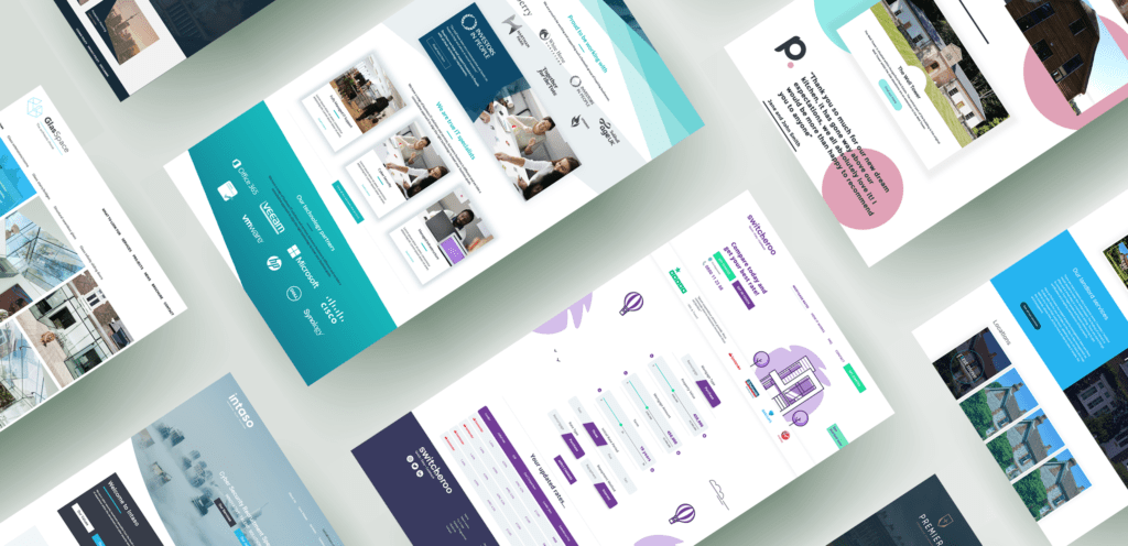Boson Web Milk and Tweed Digital and Print Graphic design Agency