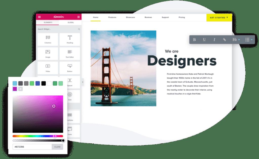 Elementor web agency