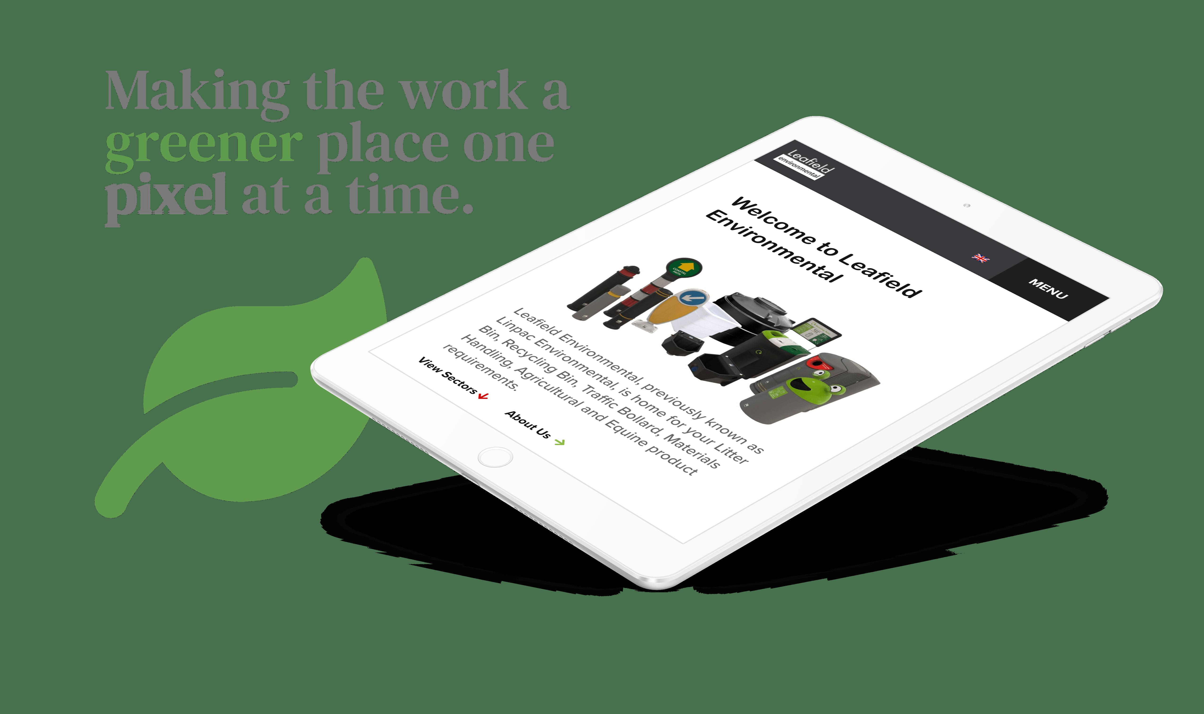 Leafield website design