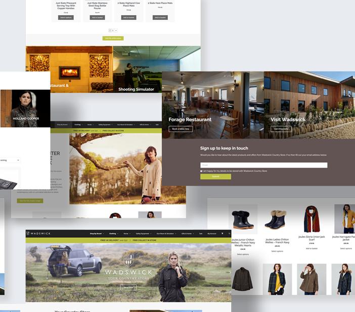 E-commerce web agency