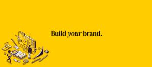 Website brand banner