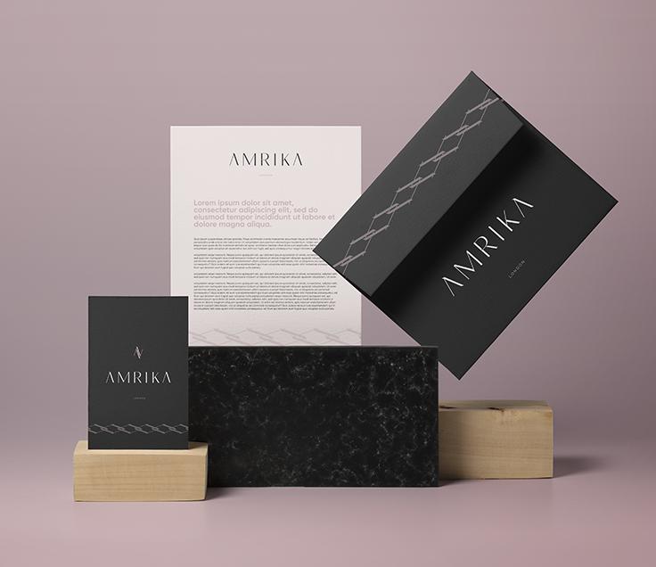 Amrika-logodesign
