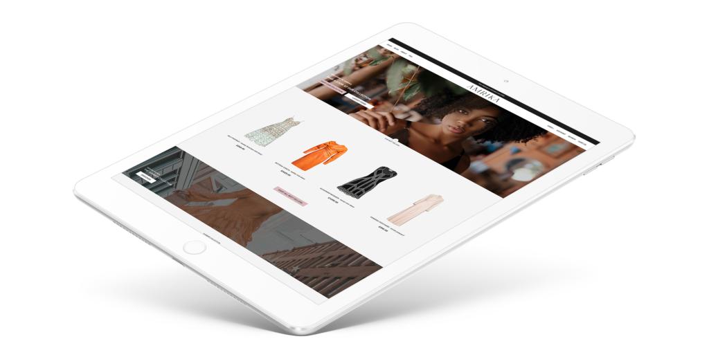 Fashion retailer website