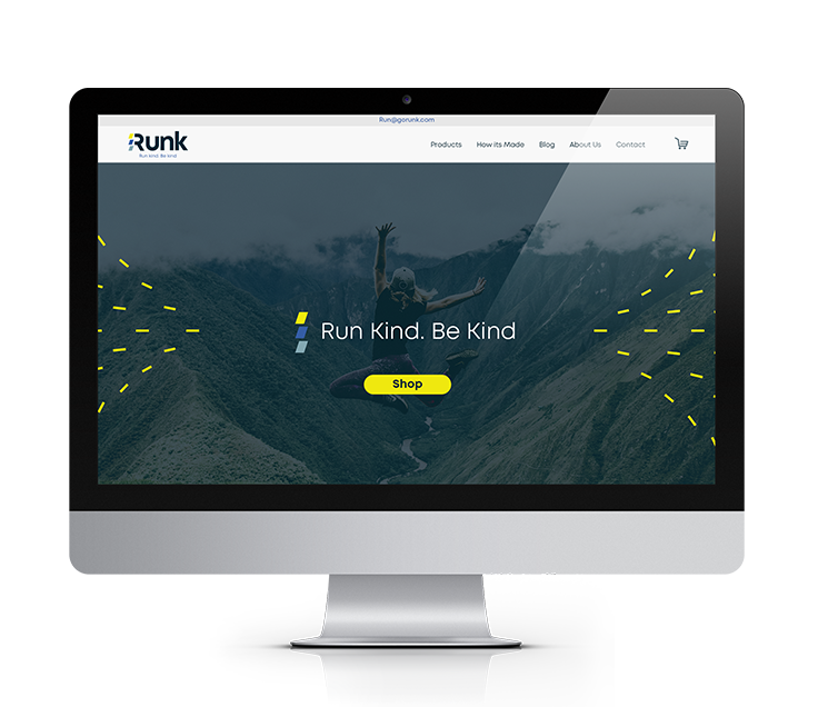Runk Website Design