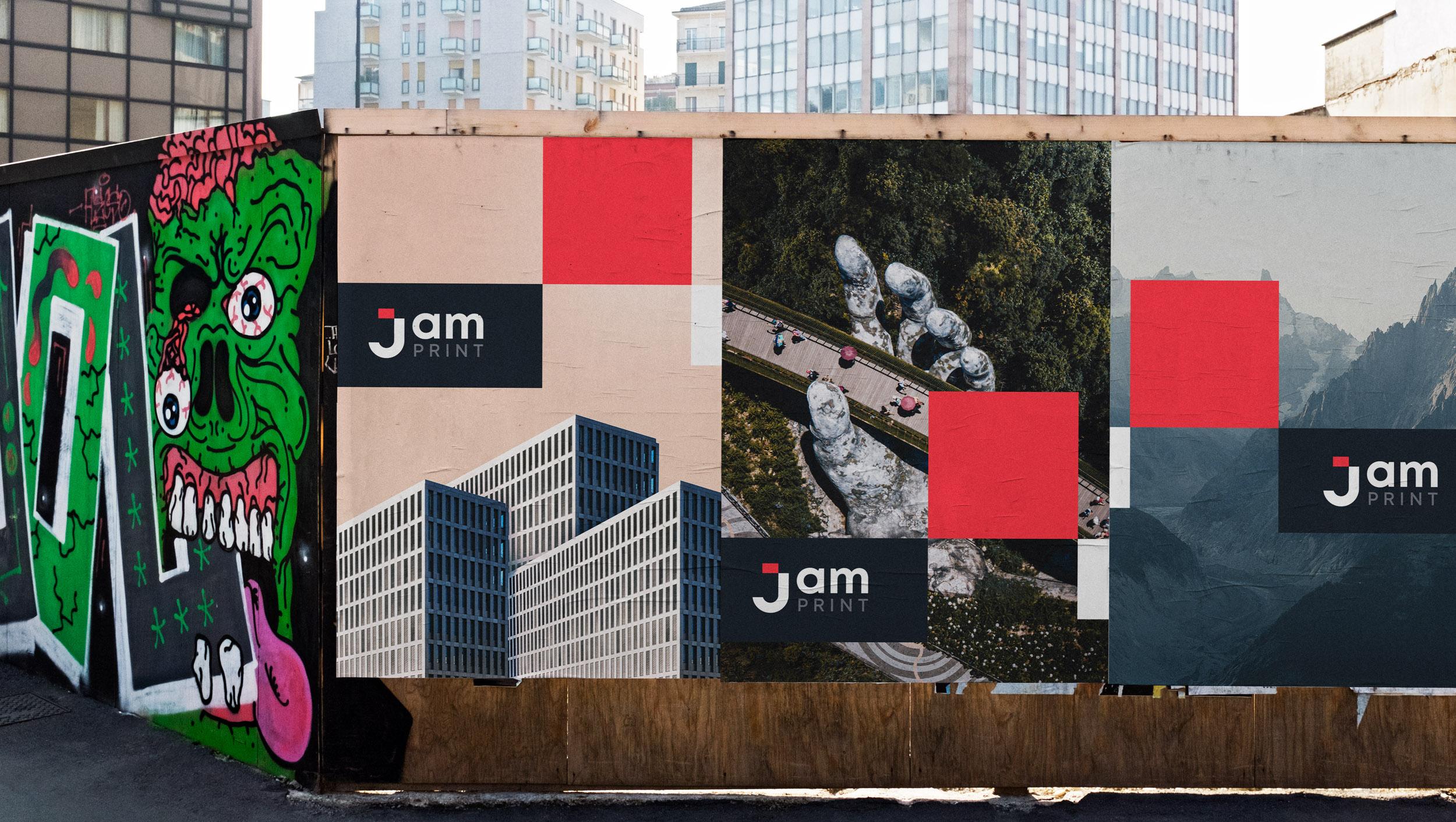 Jam Print Poster Design