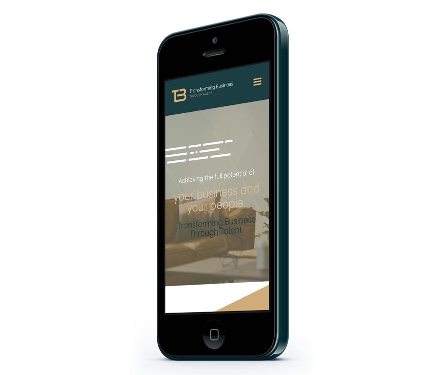 Business mobile website