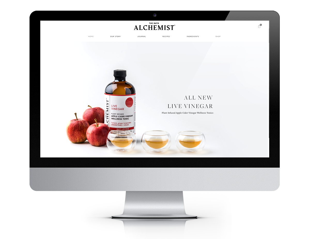 the bathalchemist-website